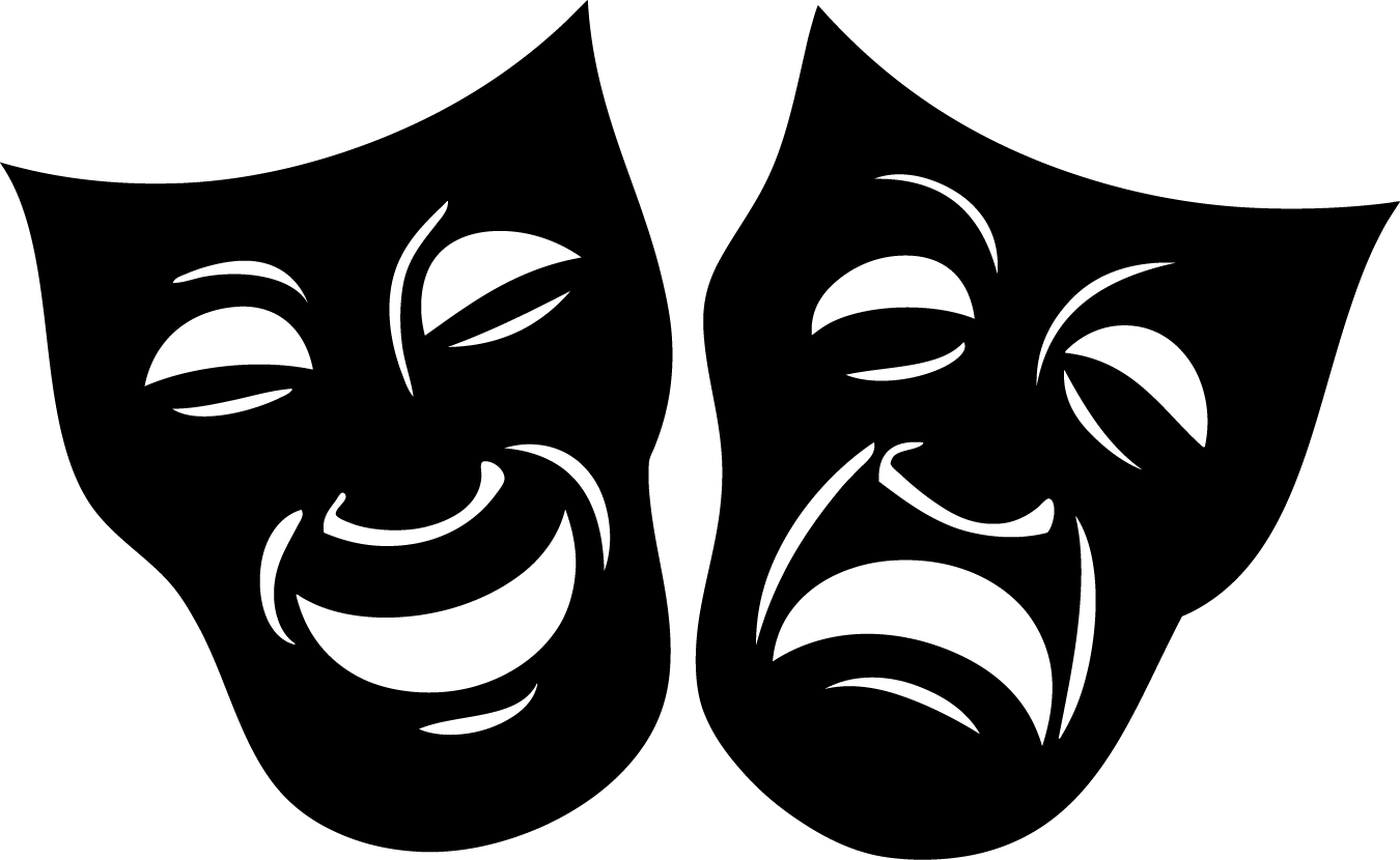 drama the spotlight playhouse theater and event center Drama Clip Art Black and White Dance Clip Art